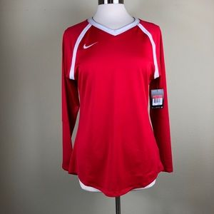 Nike Volleyball Long Sleeve Athletic Shirt